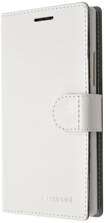FIXED FIT pouzdro pro Huawei P8 Lite, kolekce RedPoint, bílá