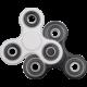 Fidget Spinner bílý/černý k ZyXEL zdarma