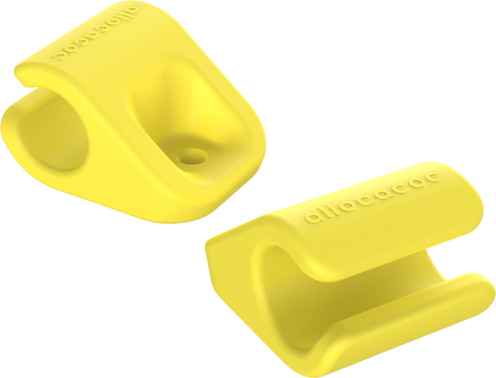 Allocacoc CableFix 8x, žlutá