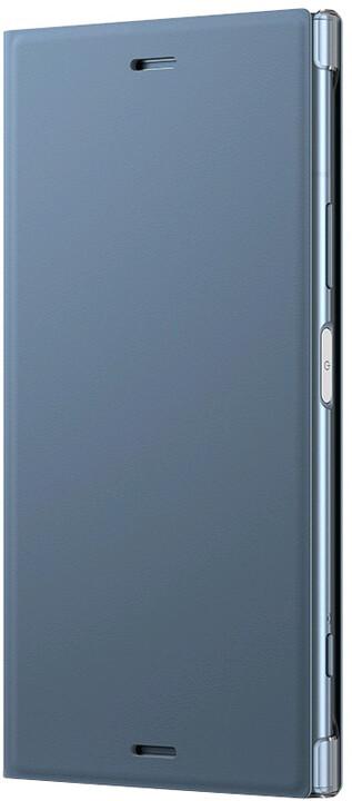 Sony Style Cover Flip pro Xperia XZ1, modrá