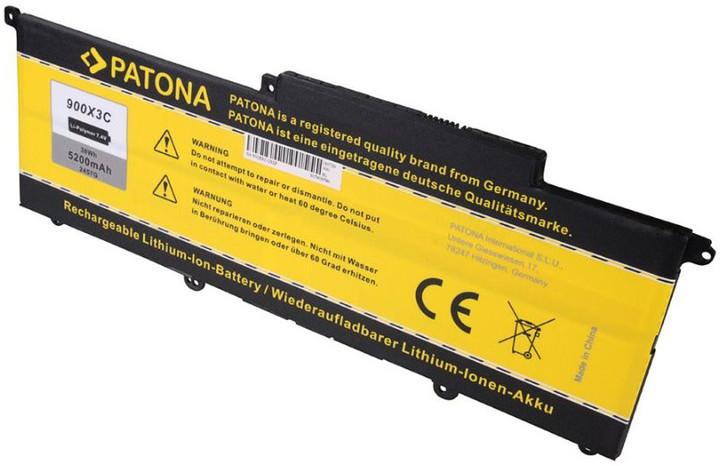 Patona baterie pro ntb Samsung NP900 5200mAh Li-Pol 10,8V AA-PBXN4AR