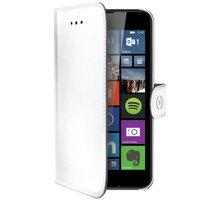 CELLY Wally pouzdro pro Microsoft Lumia 640, PU kůže, bílá - WALLY477WH