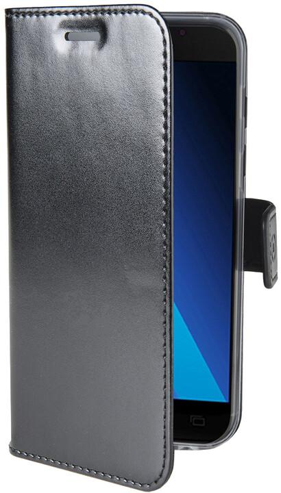 CELLY Air Pouzdro typu kniha pro Samsung Galaxy A5 (2017), PU kůže, černé