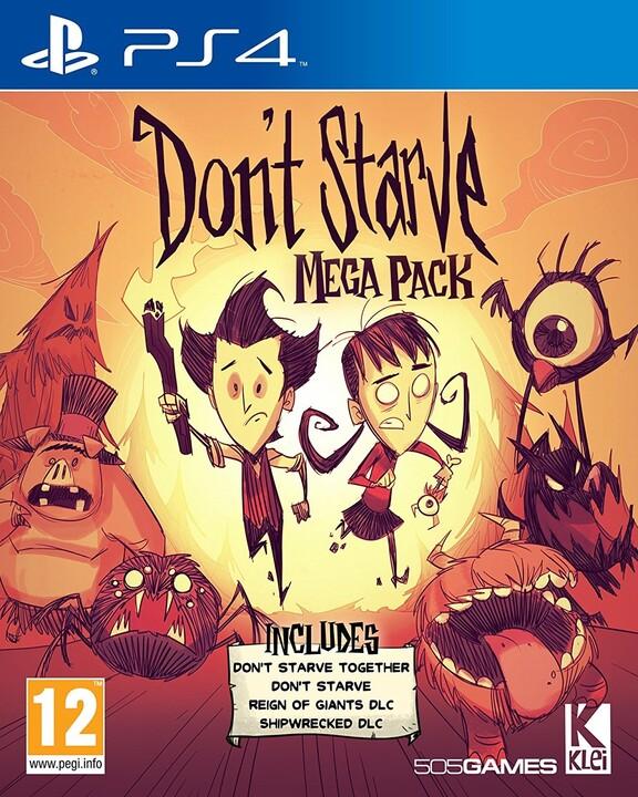 Don't Starve - Mega Pack (PS4)