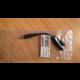 PremiumCord Kabelová rozdvojka 3,5 Jack M - 2xF 10cm