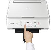 Canon PIXMA TS6051 - 1368C026 + Foto papír Canon GP-501 (10x15 cm, 100 ks, lesklý) v ceně 229 Kč