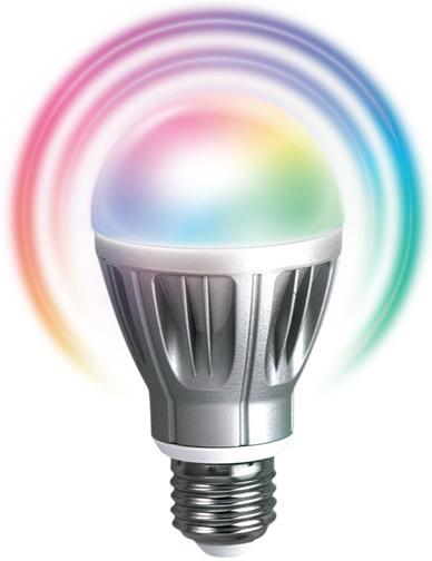 Fibaro RGB LED žárovka, E27