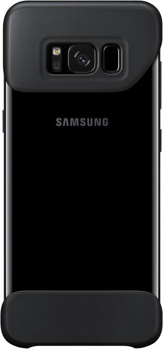 Samsung S8 2 dílný zadní kryt, černá