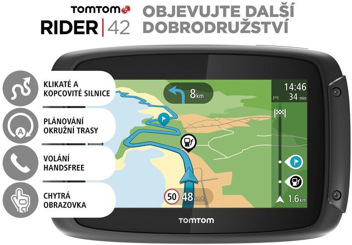 TOMTOM Rider 42 CE Lifetime