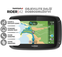 TOMTOM Rider 42 CE Lifetime - 1GE0.029.20