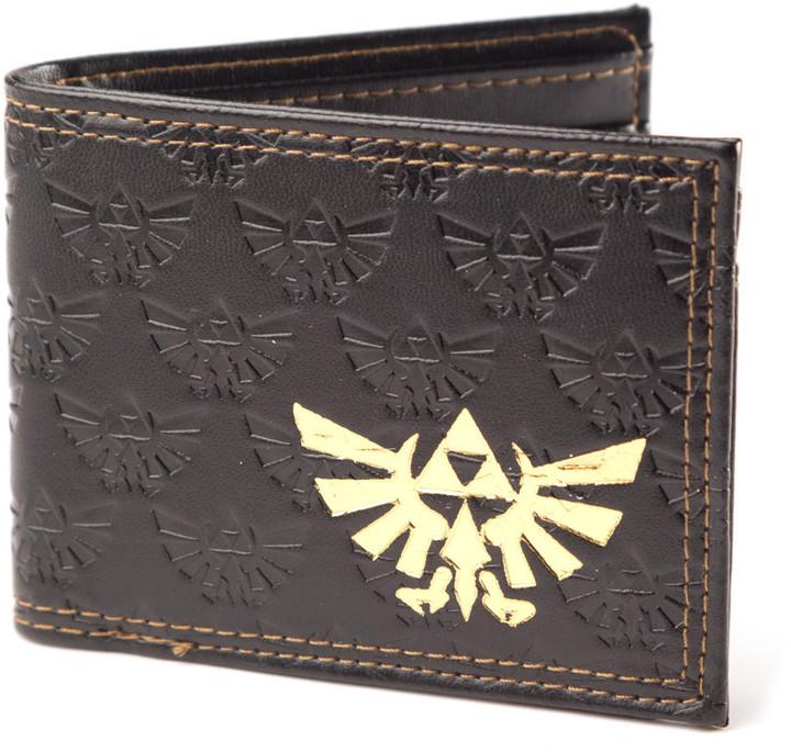 Legend of Zelda, hnědá - peněženka