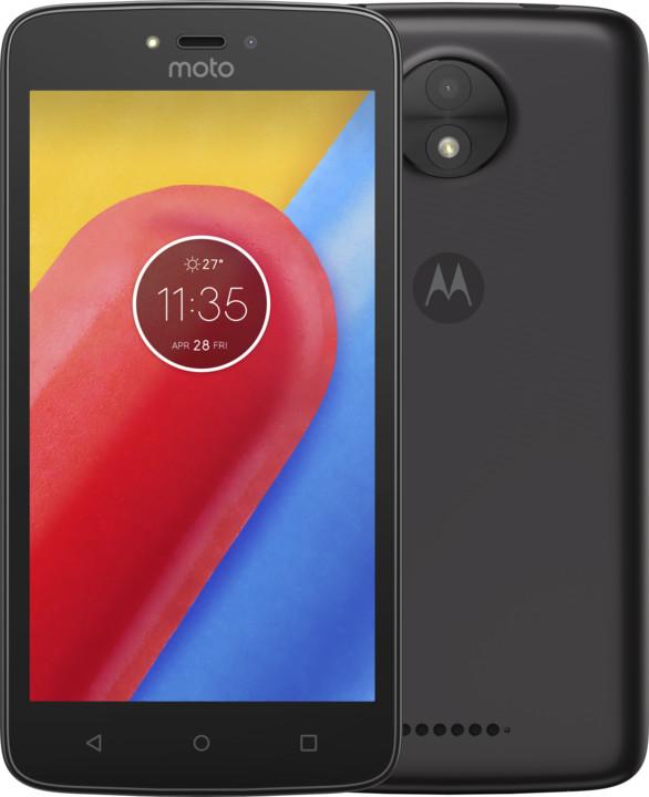 Motorola Moto C - 16GB, Dual Sim, černá