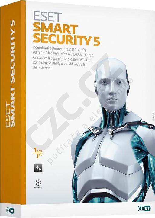 Eset Smart Security 5 - 1 PC/1 rok - krabicová verze
