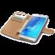 CELLY Wally Pouzdro typu kniha pro Samsung Galaxy J7 (2016), PU kůže, černé