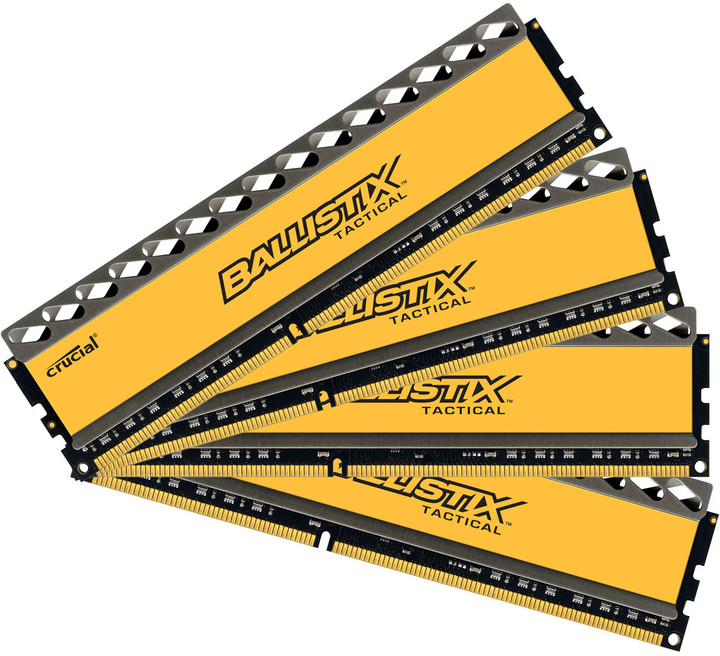 Crucial 32GB (4x8GB) DDR3 1600 Ballistix Tactical