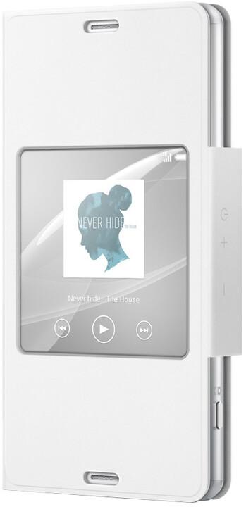 Sony pouzdro pro Xperia Z3 Compact, bílá