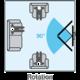 Meliconi 580408 CME Rotation ER 400 nástěnný náklonný držák na TV, černá