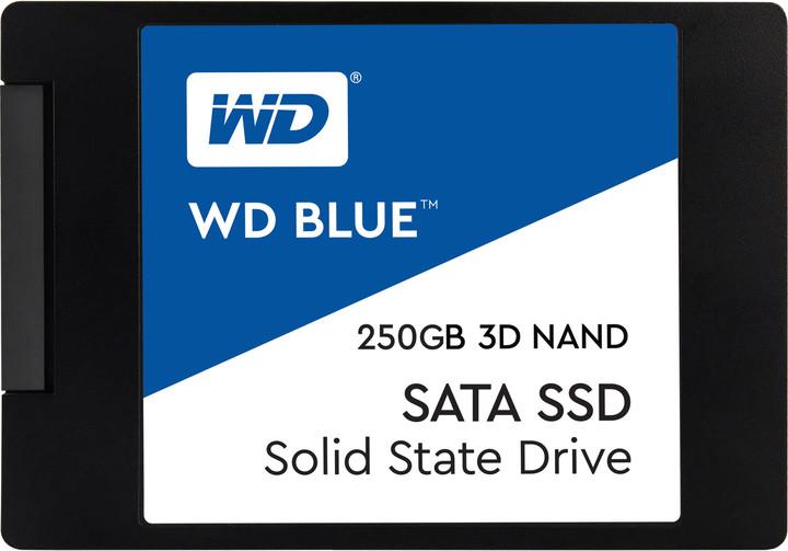 WD SSD Blue 3D NAND - 250GB
