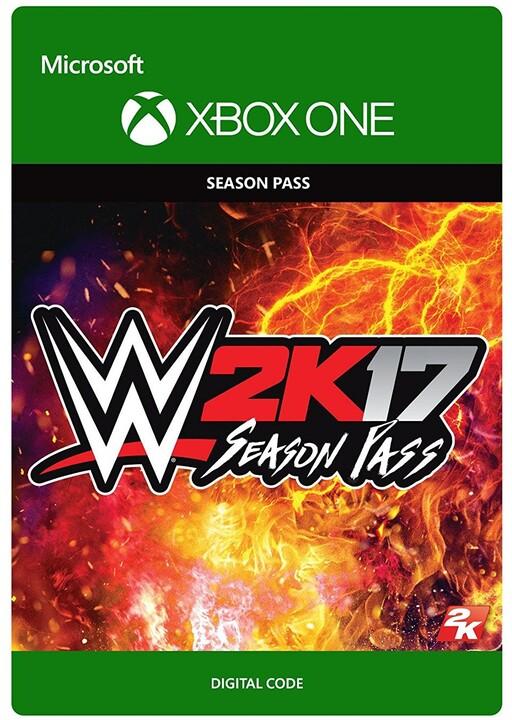 WWE 2K17 - Season Pass (Xbox ONE) - elektronicky
