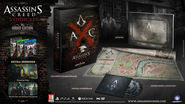 Assassin's Creed: Syndicate - The Rooks Edition (Xbox ONE)
