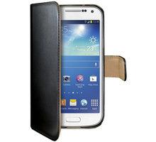CELLY Wally pro Samsung Galaxy S4 Mini, PU kůže, černá - WALLY332