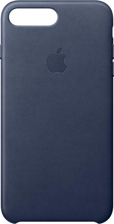 Apple Kožený kryt na iPhone 7 Plus – půlnočně modrý