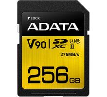 ADATA SDXC Premier One 256GB 275/155MB/s UHS-II U3 - ASDX256GUII3CL10-C