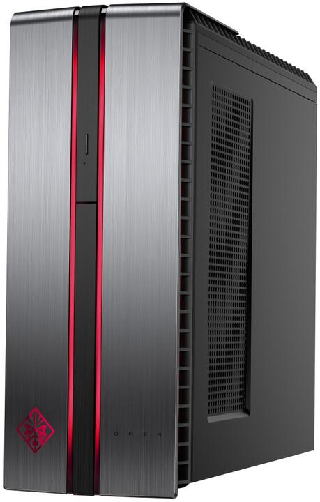 HP Omen 870-287nc, šedá