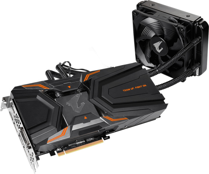 GIGABYTE GeForce AORUS GTX 1080 Ti Waterforce Xtreme Edition 11G, 11GB GDDR5