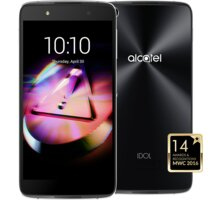 ALCATEL OT-6055K IDOL 4 - VR BOX , šedá - 6055K-2CALE17-5