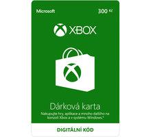 Microsoft Xbox Live dárková karta 300 Kč (elektronicky) - K4W-00054