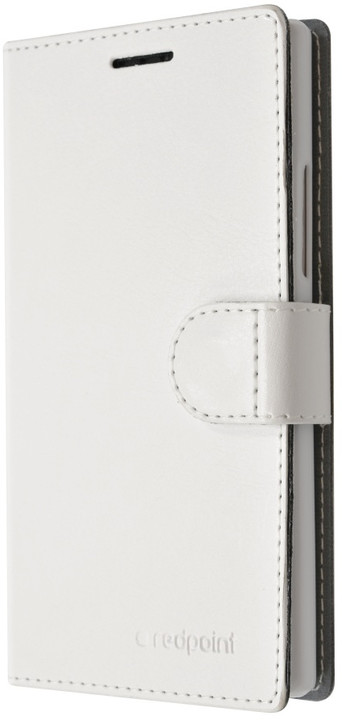 FIXED flipové pouzdro pro ASUS ZenFone 2 Laser (ZE500KL), bílá