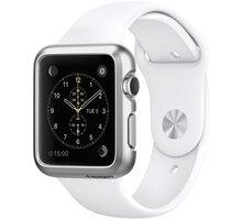 Spigen Thin Fit, satin silver - Apple Watch 38mm - SGP11489
