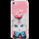 EPICO pružný plastový kryt pro iPhone 5/5S/SE CAT&ROSES  + EPICO Nabíjecí/Datový Micro USB kabel EPICO SENSE CABLE