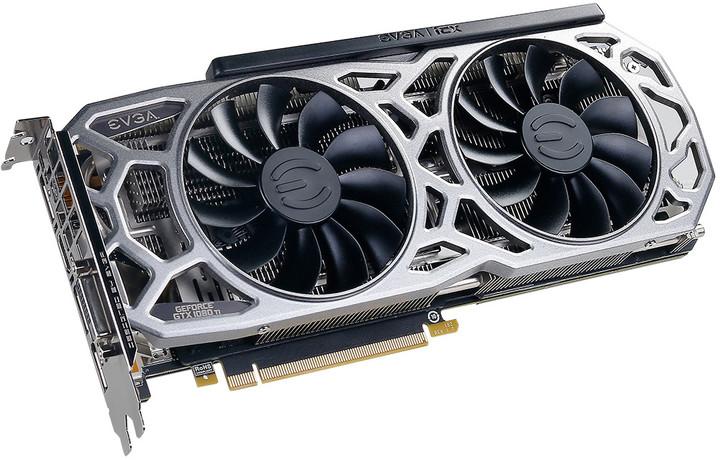 EVGA GeForce GTX 1080 Ti SC2 GAMING, 11GB GDDR5X