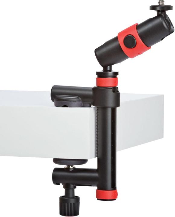 JOBY Action Clamp & Locking Arm, černá/červená