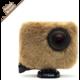 REMOVU Wind Jacket - návlek proti větru, vlhkosti a nečistotami - Puppy Brown