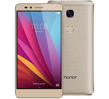 Honor 5X, zlatá + Zdarma SIM karta Relax Mobil s kreditem 250 Kč