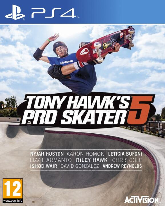 Tony Hawks Pro Skater 5 - PS4