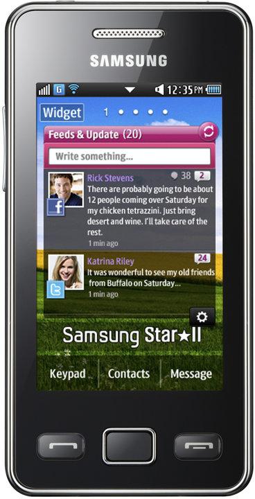 Samsung Star II, Black