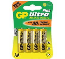 GP AA Ultra Plus, alkalická 4ks - 1017214000