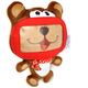 Wise Pet ochranný a zábavný dětský obal pro Smartphone - mini Bear