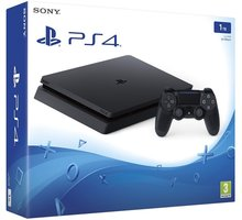 PlayStation 4 Slim, 1TB, černá - PS719851059 + Externí disk Sony 2TB v ceně 4000 kč