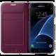 Samsung Flip Wallet EF-WG930PXEGWW pro Galaxy S7, vínová