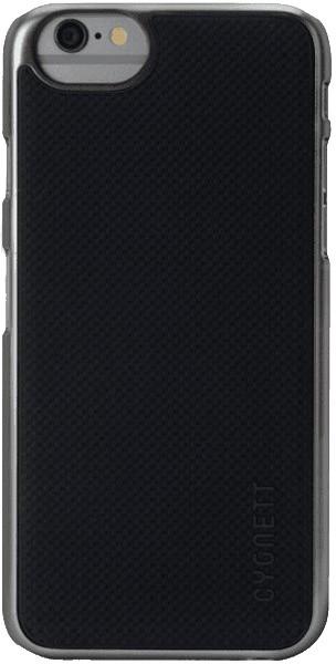 Cygnett PC se silikonovou vložkou pouzdro pro iPhone 6 plus - šedá/černá