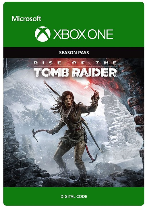 Rise of the Tomb Raider - Season Pass (Xbox ONE) - elektronicky