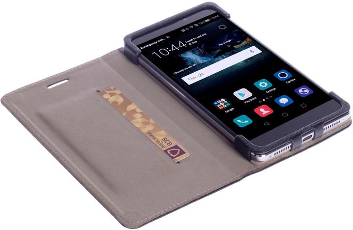 Krusell MALMÖ knížkové pouzdro pro Huawei P9 Lite, černá