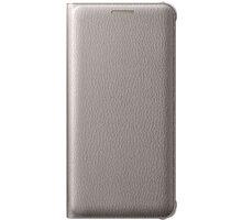 Samsung EF-WA310PF Flip Galaxy A3 (2016), zlatý - EF-WA310PFEGWW
