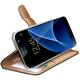 CELLY Wally pouzdro pro Samsung Galaxy S7, PU kůže, černá