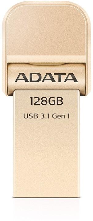 ADATA AI920 128GB, zlatá